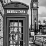 B&W image of a UK phonebook, it's always good to talk - Solutions for Small Business